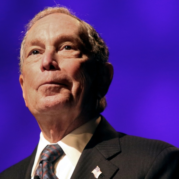 Michael Bloomberg speaks at the Christian Cultural Center on Nov. 17, 2019, in the Brooklyn borough of New York City. (Credit: Yana Paskova/Getty Images)