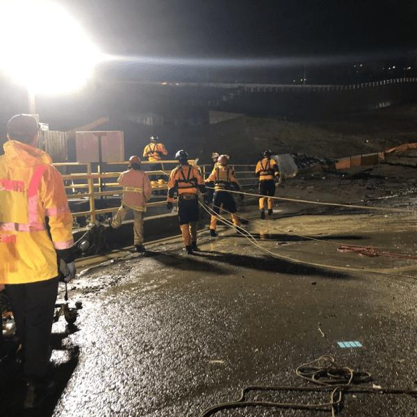 SD border drain rescue