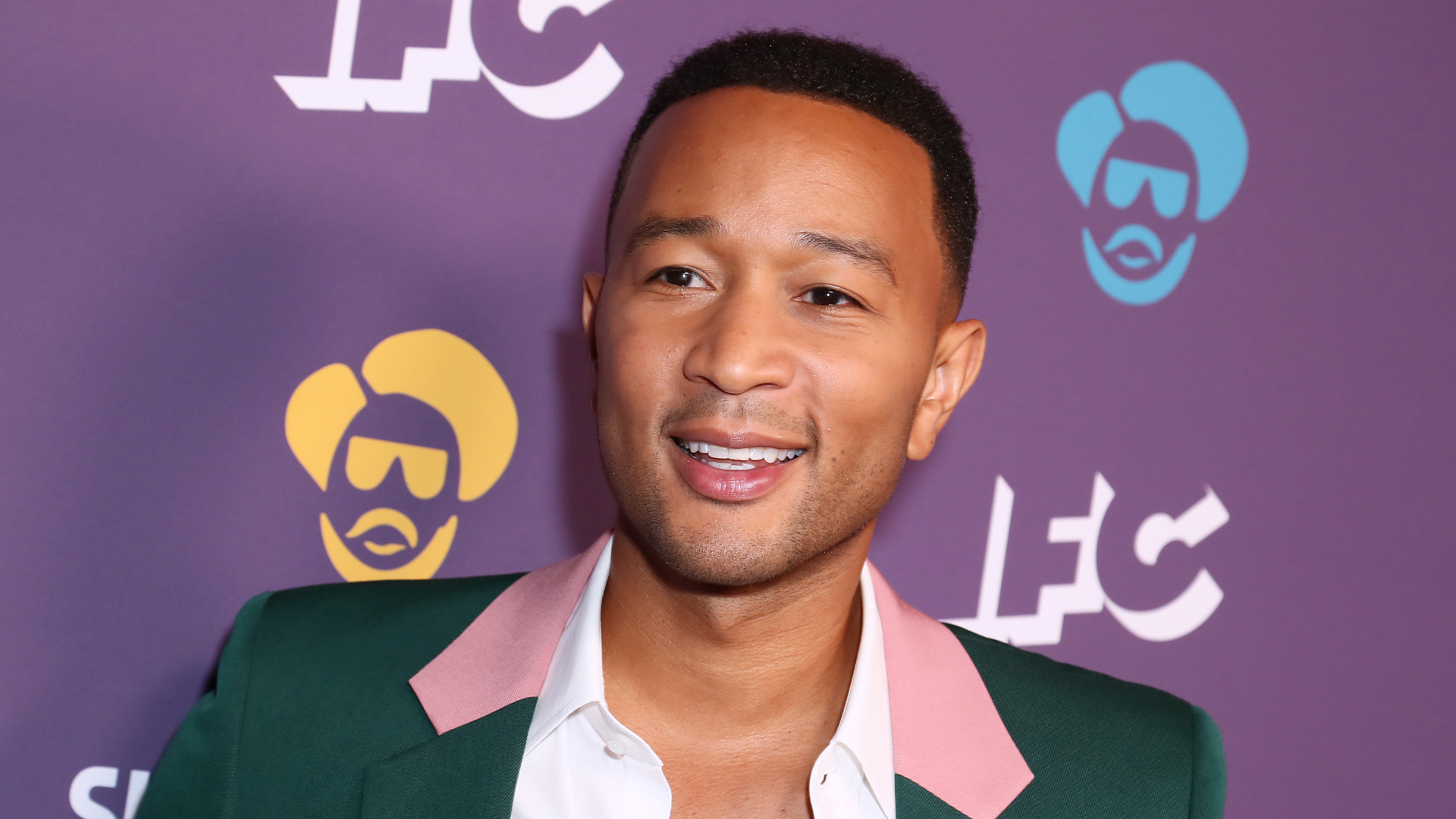 "John Legend attends the Los Angeles Series Premiere of ""Sherman's Showcase"" on July 30, 2019. (Credit: Leon Bennett/Getty Images)"