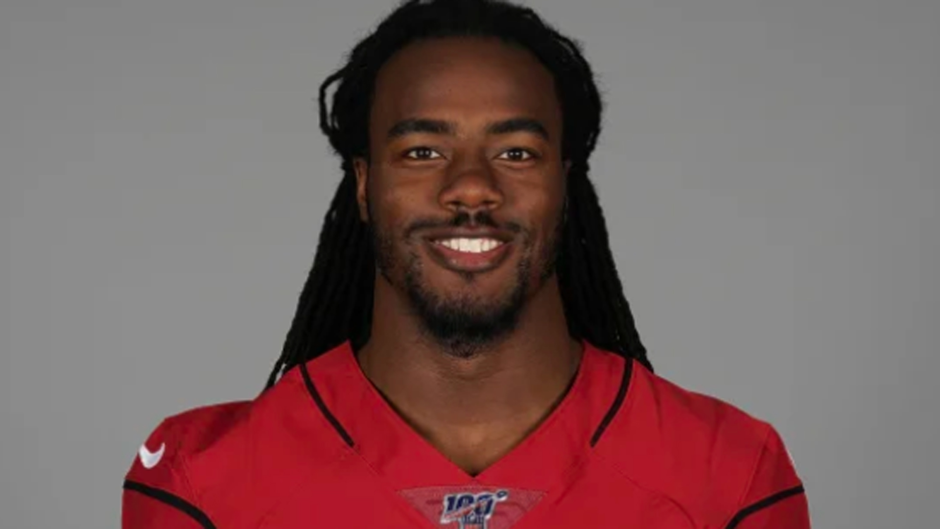 Josh Shaw is seen in an Arizona Cardinals team photo.