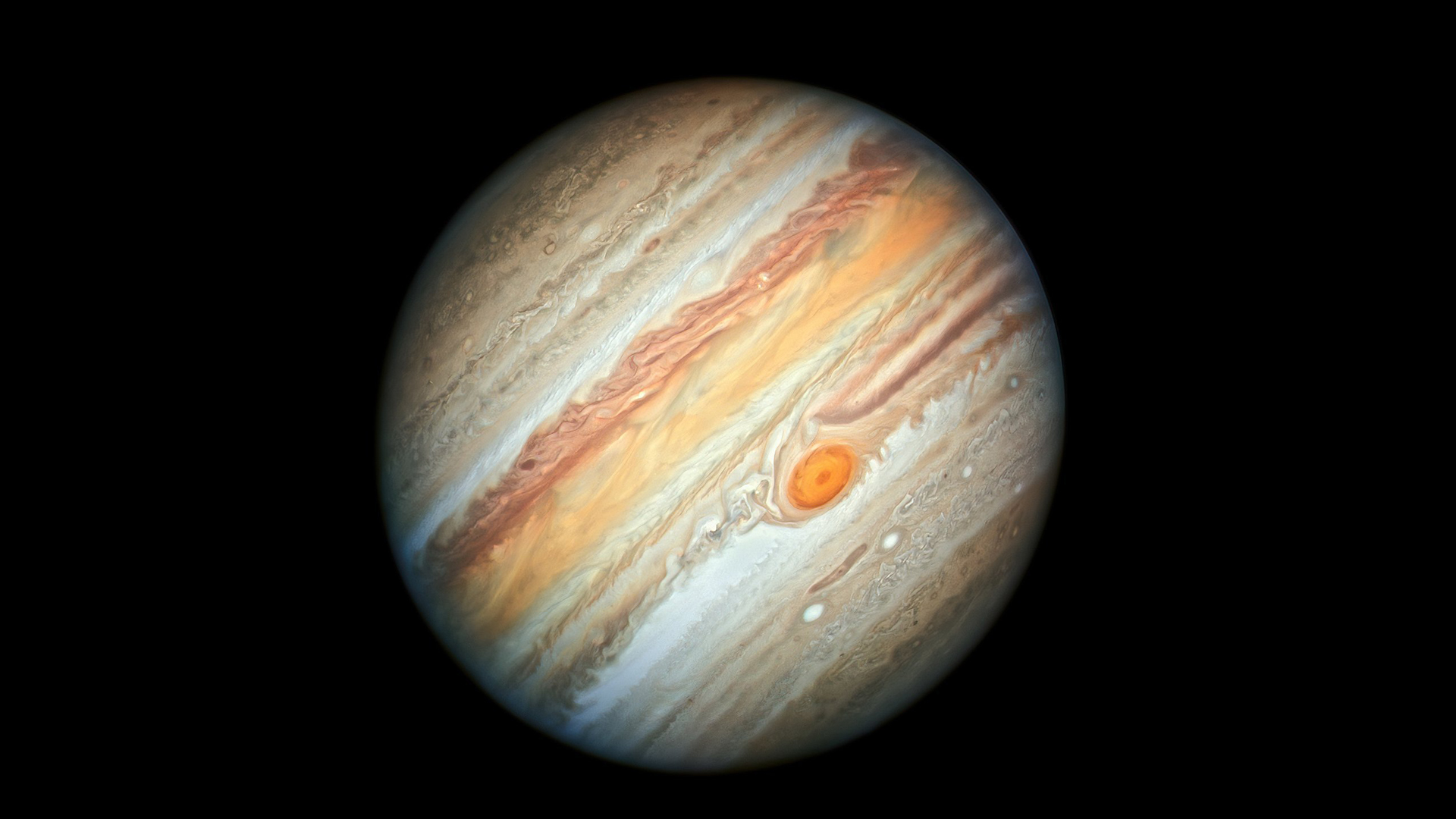 Last year, photos taken by NASA's Juno mission shows the Great Red Spot. (Credit: A. Simon/M.H. Wong/ESA/Hubble/NASA)