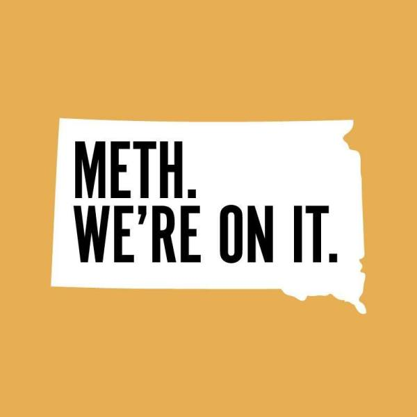 South Dakota's anti-drug campaign logo is seen in an image posted to its Facebook page on Nov. 15, 2019.