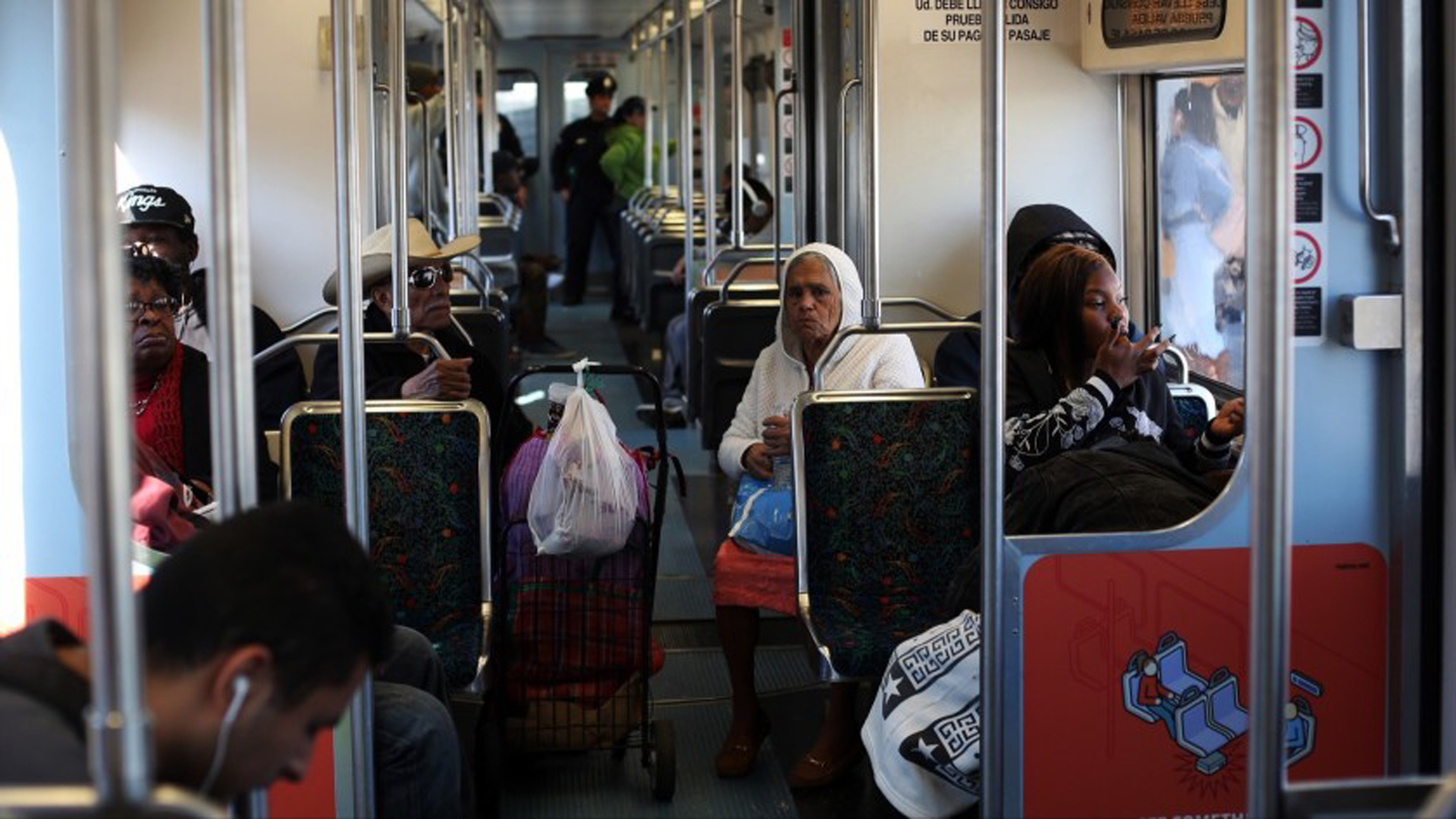 Previously called the Blue Line, the Metro A Line has faced a series of delays since reopening this month after a $350-million overhaul.(Credit: Dania Maxwell / Los Angeles Times)