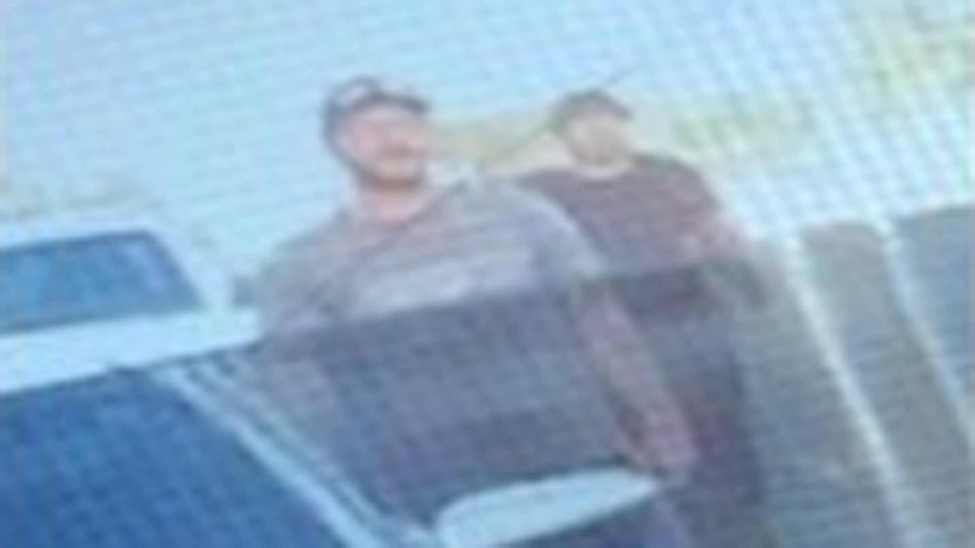 A man sought in an apparent road-rage incident is seen in an image provided by the Los Angeles County Sheriff's Department.