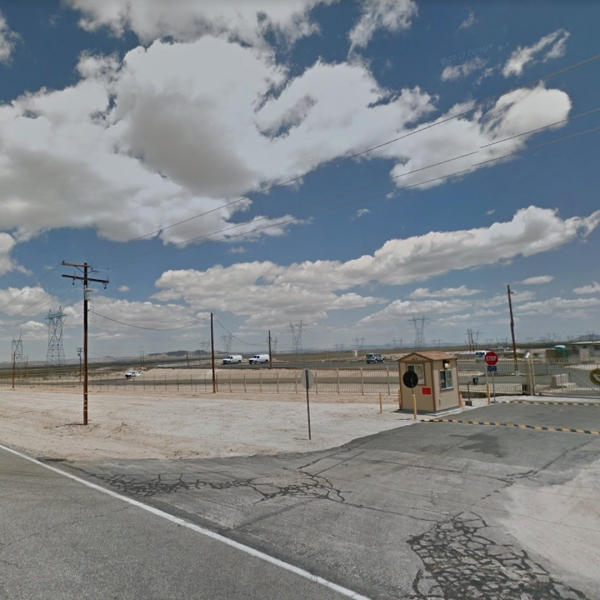 A Google Maps Street View image shows 116th Street East in the Antelope Valley.