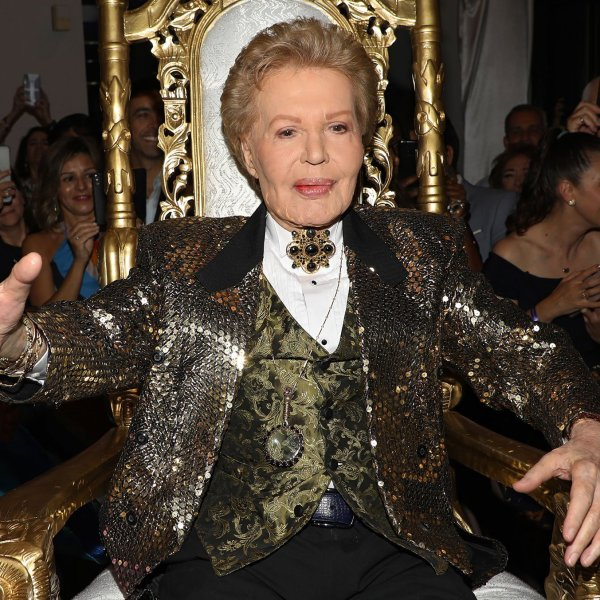 "Walter Mercado attends the opening of ""Mucho, Mucho Amor: 50 Years of Walter Mercado"" at HistoryMiami Museum in Miami, Florida, on Aug. 1, 2019. (Credit: Alexander Tamargo/Getty Images via CNN)"