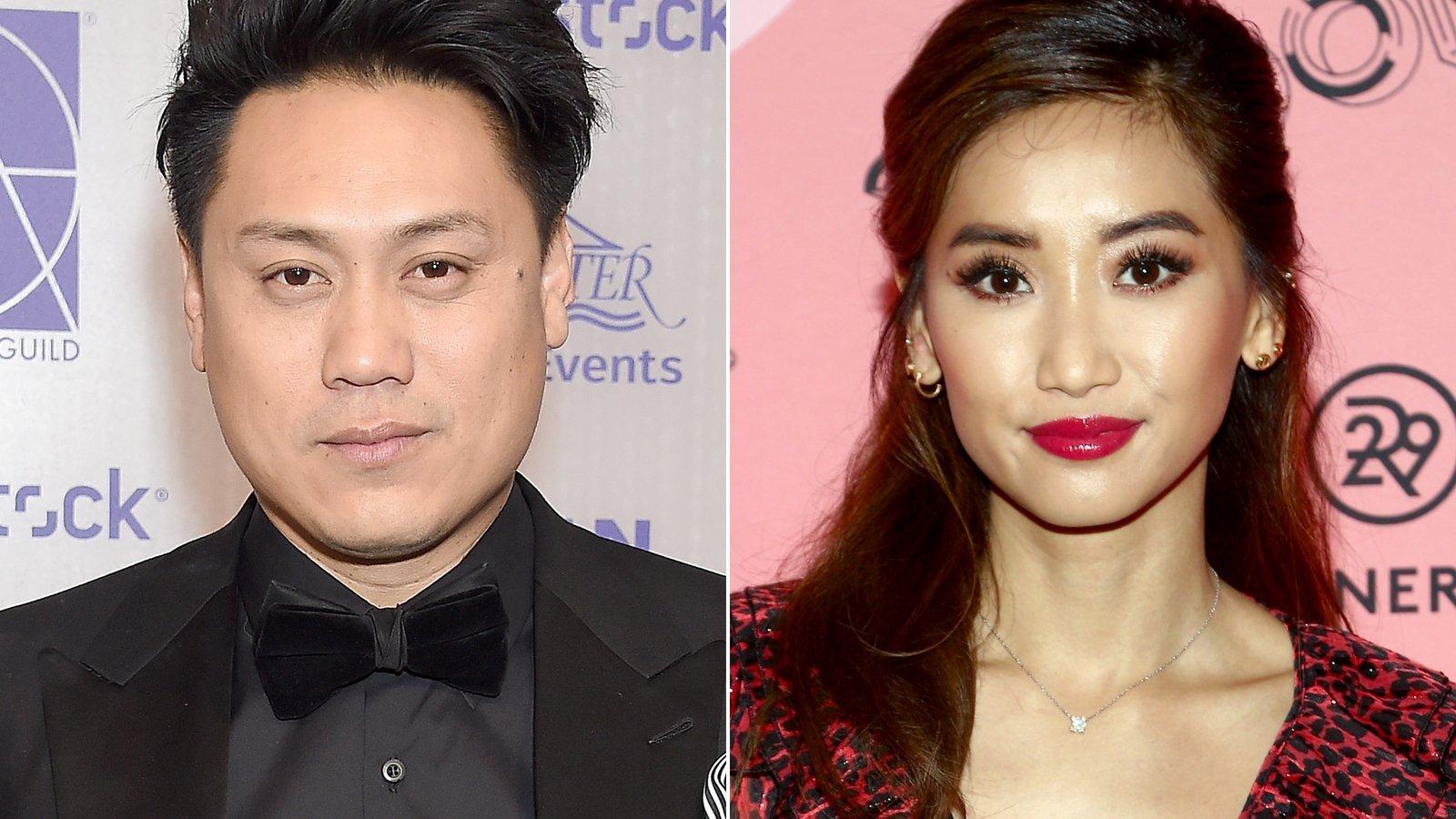 """Crazy Rich Asians"" director Jon Chu and Brenda Song on Nov. 21, 2019. (Credit: CNN)"