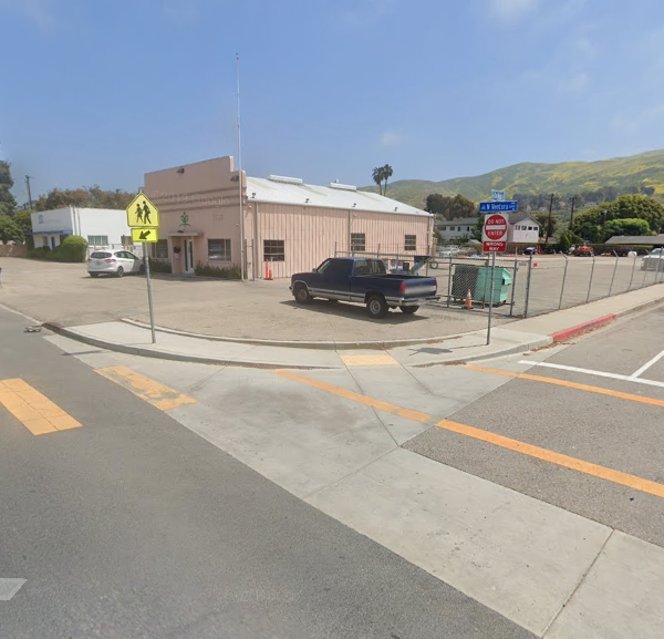 The intersection of De Anza Dr. & Ventura Ave. appears in an image from Google Maps.