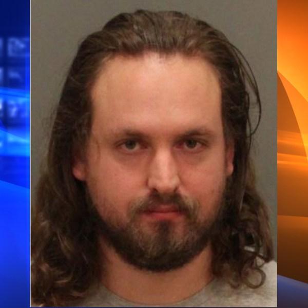 Matthew Strazicich arrested on suspicion in Riverside on Nov. 27, 2019. (Credit: Corona Police Department)