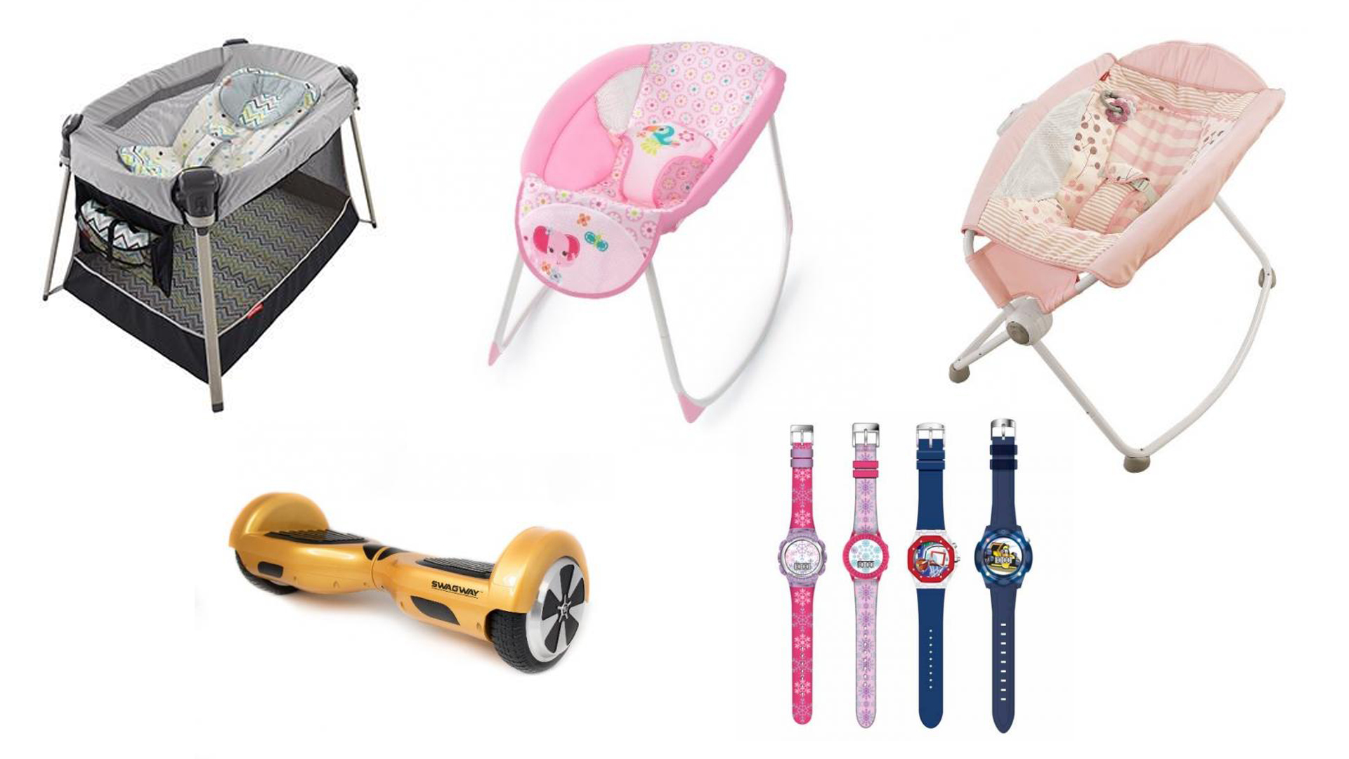 Baby sleepers and other recalled items that were sold at T.J. Maxx, Marshalls and HomeGoods stores. (Credit: U.S. Consumer Product Safety Commission)
