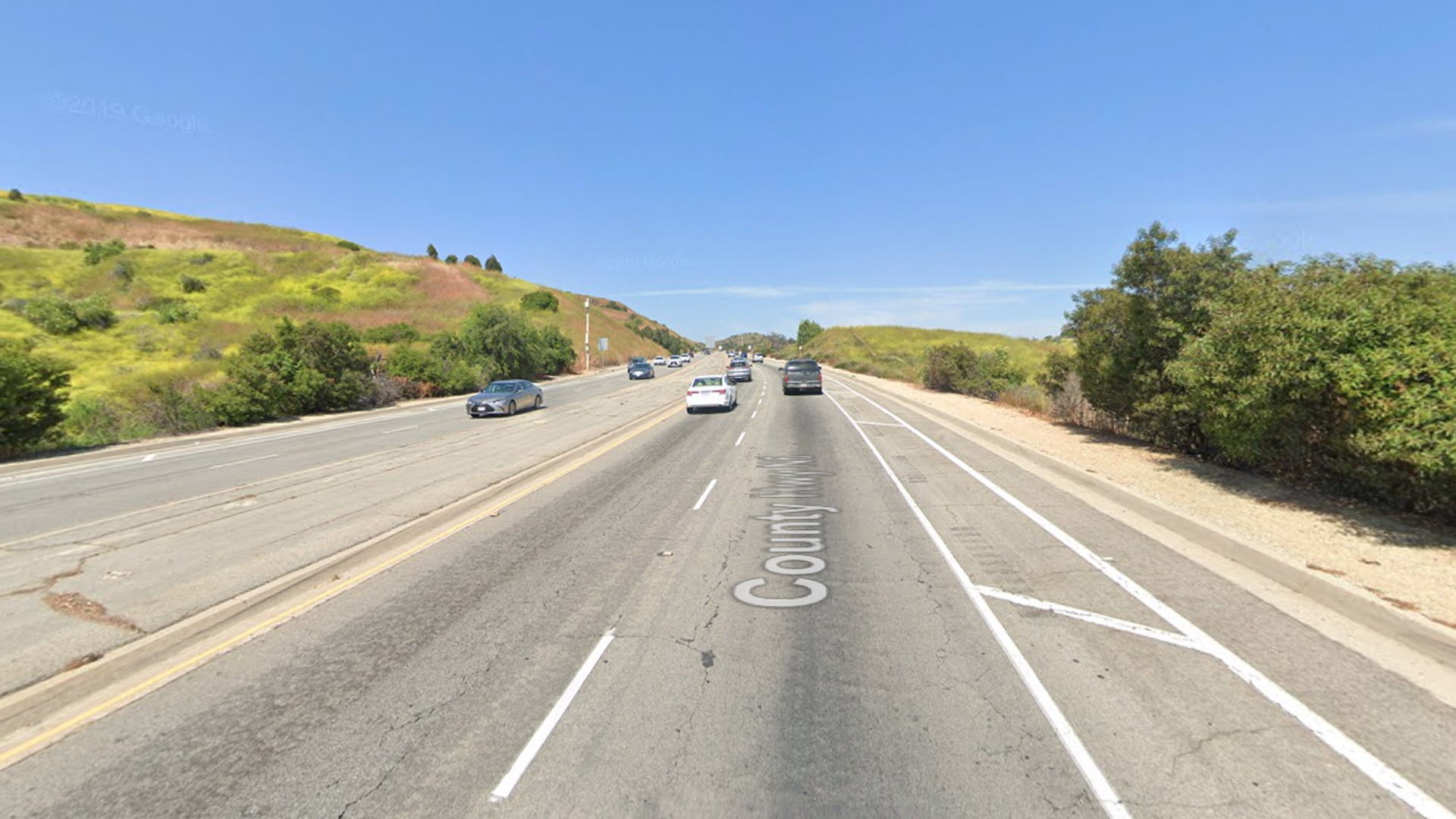 The 7700 block of Colima Road in Whittier, as viewed in a Google Street View image.