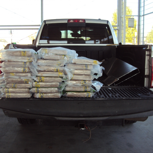 U.S. Customs and Border Protection released this photo of cocaine seized by agents on Dec. 13, 2019 near Temecula.