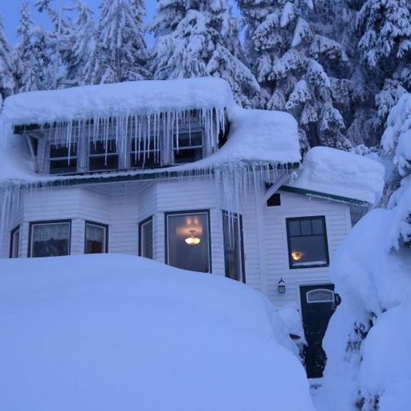 A photo of the home was released by the AK Division of Homeland Security and distributed by CNN on Dec. 8, 2019.