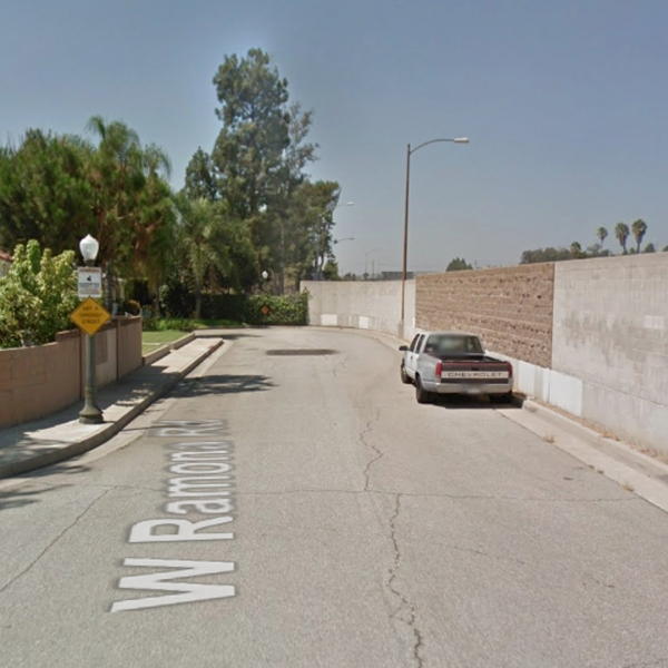 The 900 block of West Ramona Road in Alhambra, as viewed in a Google Street View image.