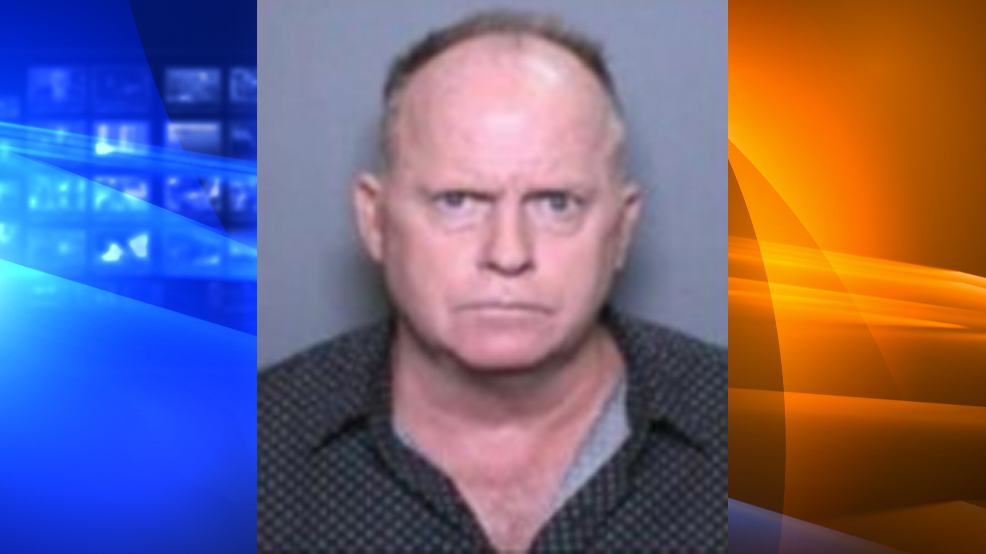 Barry Allen Buydens, 56, of La Quinta, pictured in a photo released by the Newport Beach Police Department following his arrest on Dec. 24, 2019.