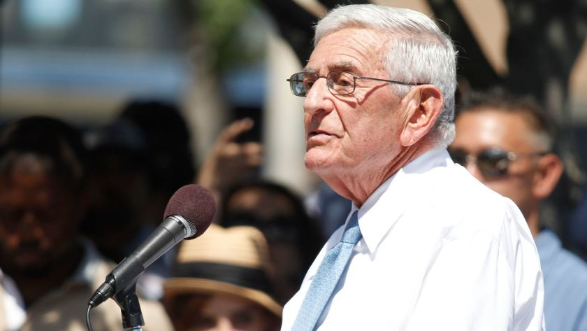 Eli Broad is sending his school leadership training program to Yale.(Credit: Glenn Koenig / Los Angeles Times)