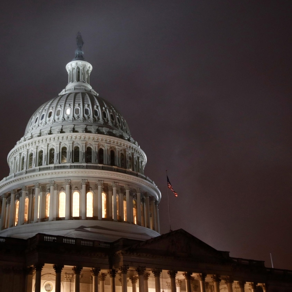 The U.S. Capitol is seen in an undated photo. (Credit: Patrick Semansky/AP)