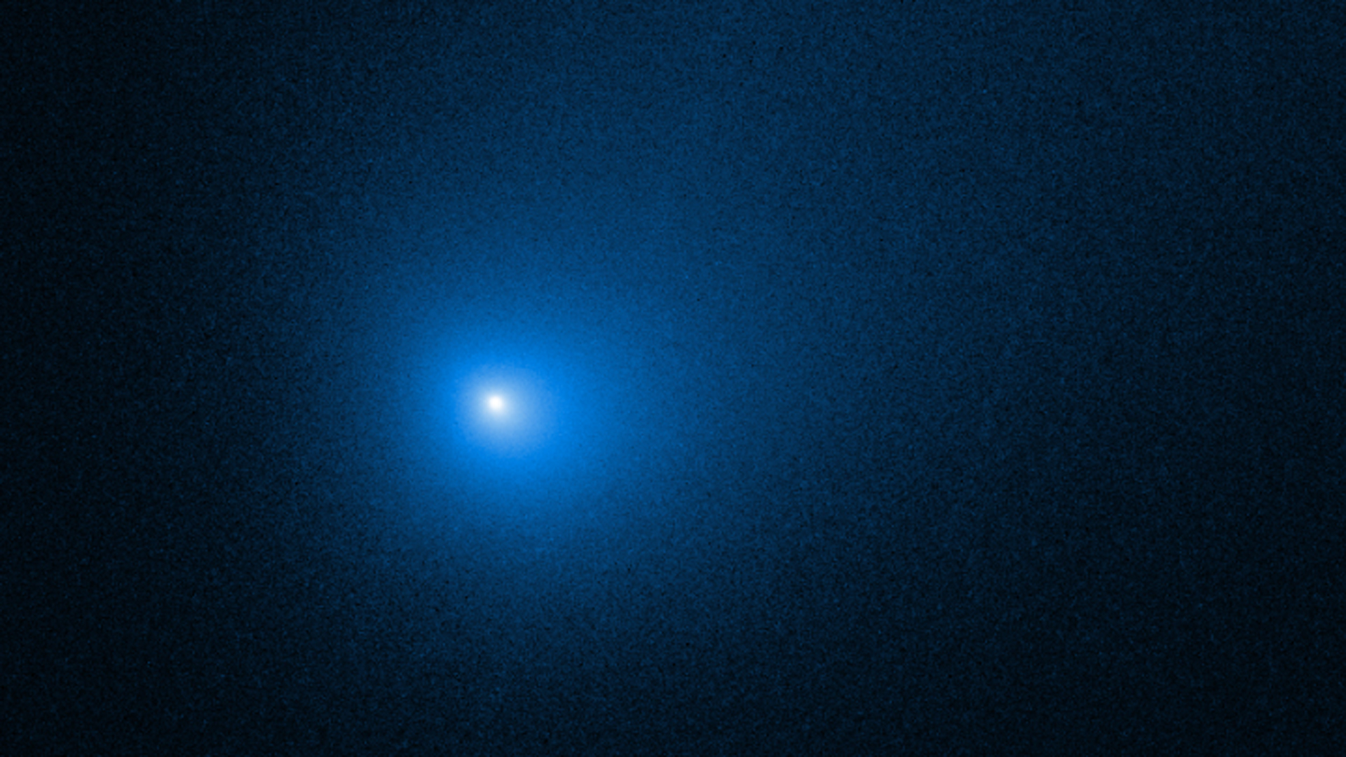 NASA's Hubble Space Telescope captured this image of Comet 2I/Borisov, only the second interstellar object known to have passed through the solar system. (Credits: NASA, ESA and D. Jewitt, UCLA)
