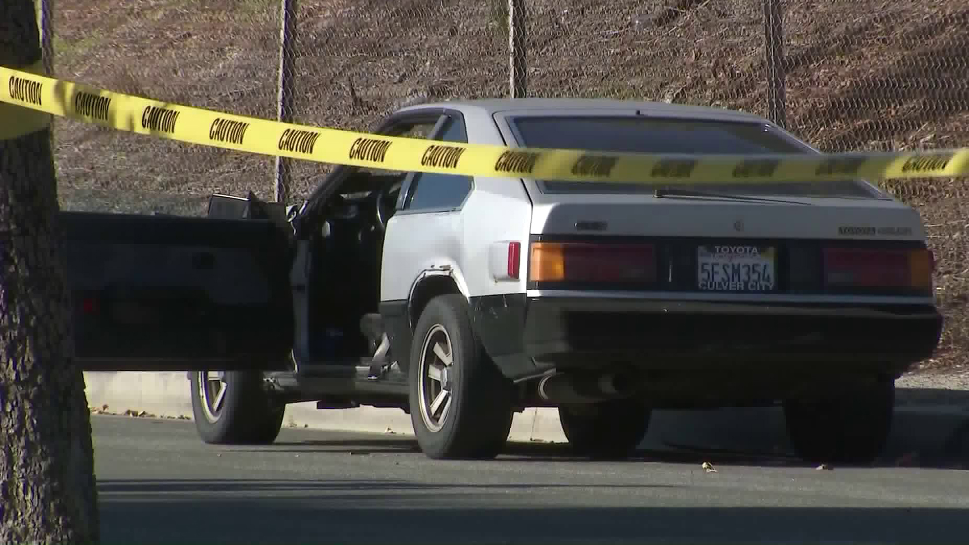 An investigation was underway on Dec. 31, 2019, after a man was shot by an off-duty sheriff's deputy in the Mid-City area. (Credit: KTLA)