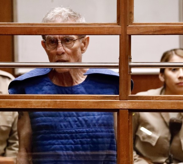Ed Buck is seen in court in September. (Credit: Al Seib / Los Angeles Times)