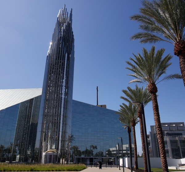 Christ Cathedral in Orange County is seen in an undated photo. (Credit: Dania Maxwell/Los Angeles Times)