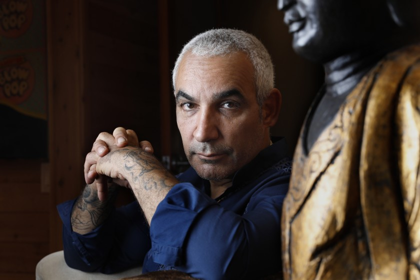 Hollywood executive Alki David, who is best known for operating a hologram company that projected images of dead celebrities, is seen in this undated photo.(Credit: Carolyn Cole / Los Angeles Times)