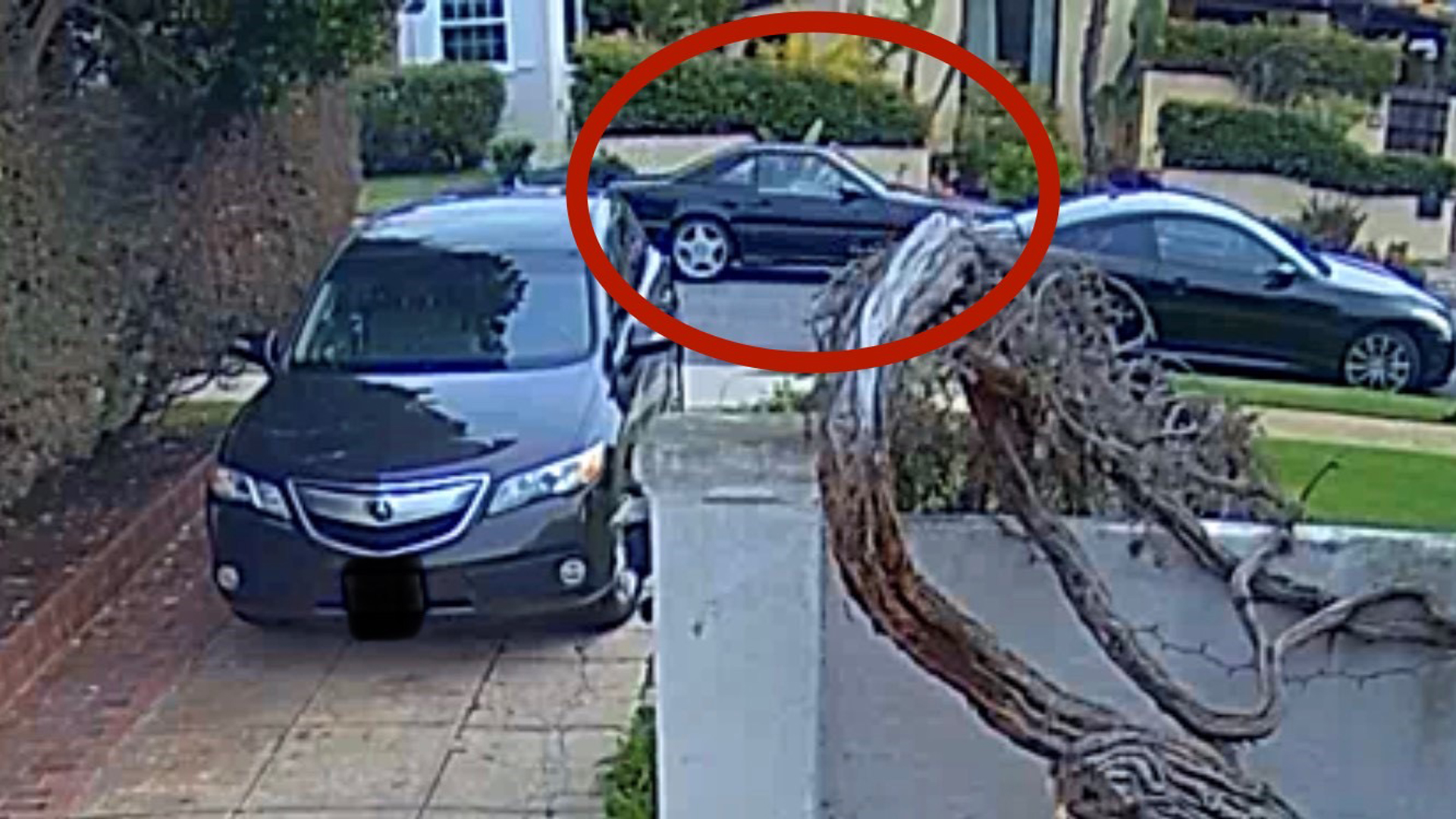 El Segundo police released a photo of the sought car on Dec. 10, 2019.
