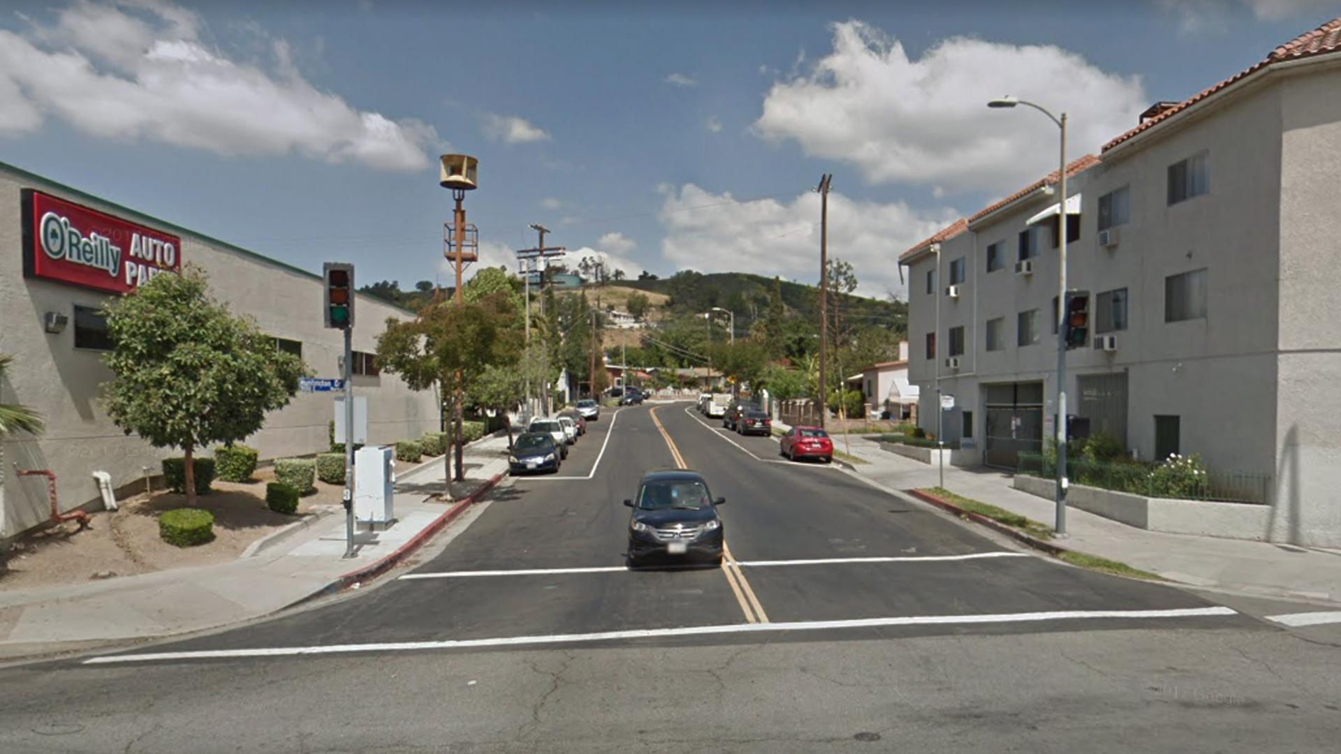 The 3900 block of Van Horne Avenue in the El Sereno neighborhood of Los Angeles, as viewed in a Google Street View image.