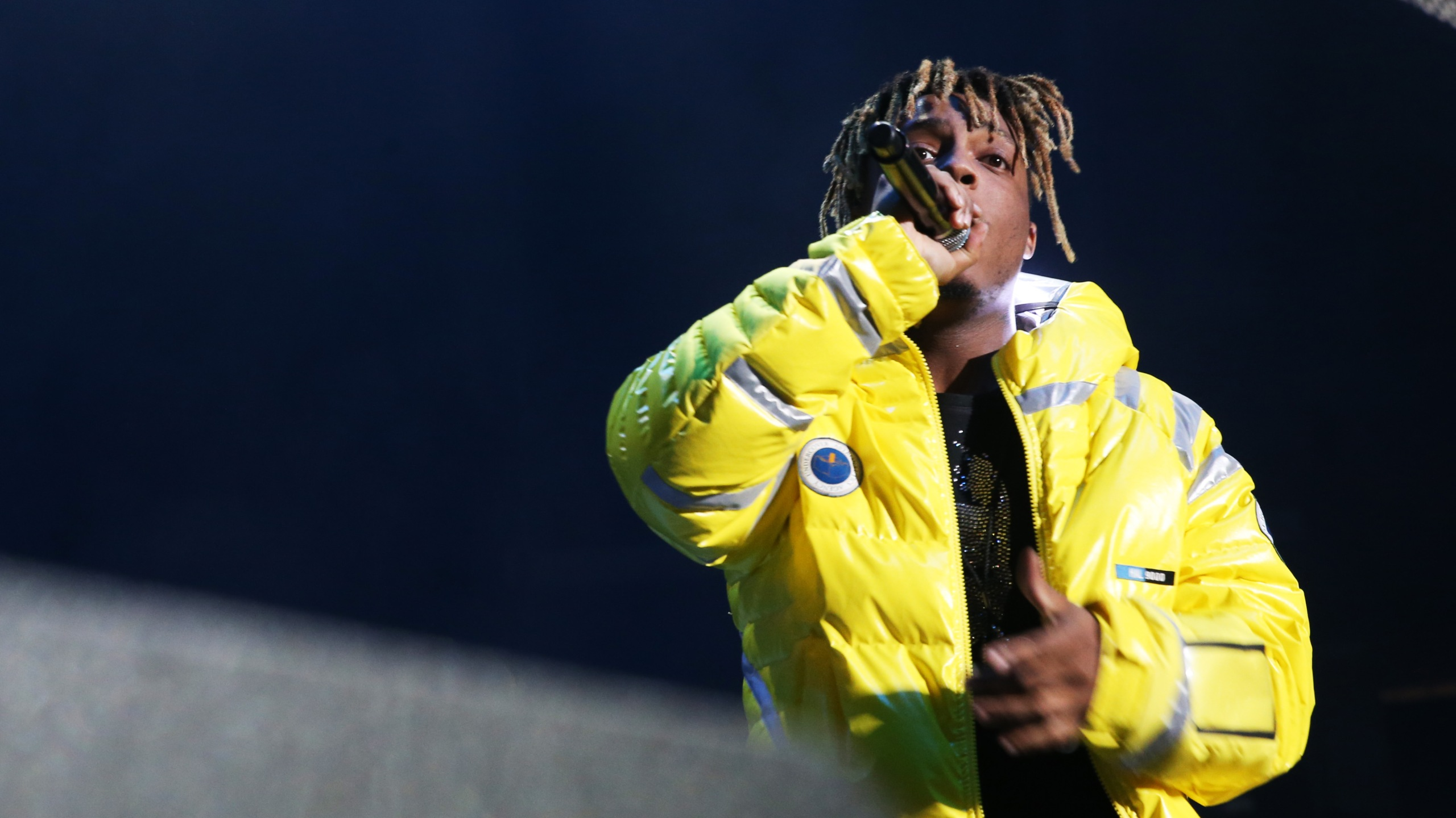 Rapper Juice Wrld performs at Power 105.1's Powerhouse 2018 at Prudential Center on Oct. 28, 2018, in Newark, New Jersey. (Bennett Raglin/Getty Images for Power 105.1)