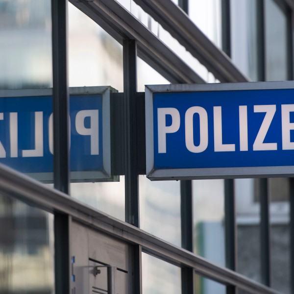 A police station is seen in Germany in this file photo. (Credit: Thomas Lohnes/Getty Images)