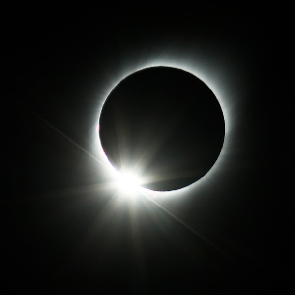 A total solar eclipse is seen on July 2, 2019, in Chile. (Credit: Marcelo Hernandez/Getty Images)