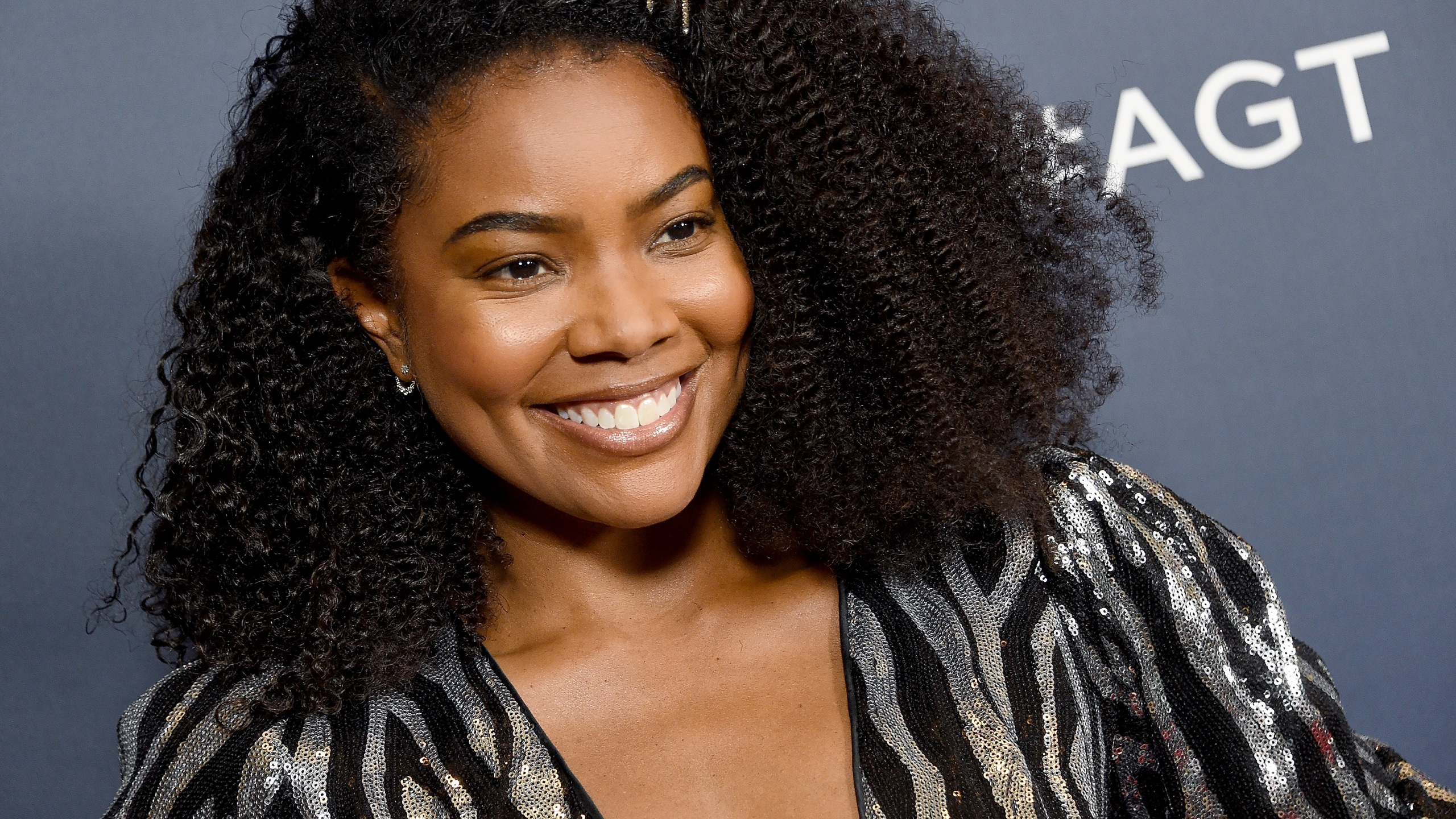 "Gabrielle Union arrives at an ""America's Got Talent"" live show red carpet at Dolby Theatre in Hollywood on Sept. 10, 2019. (Credit: Gregg DeGuire / Getty Images)"