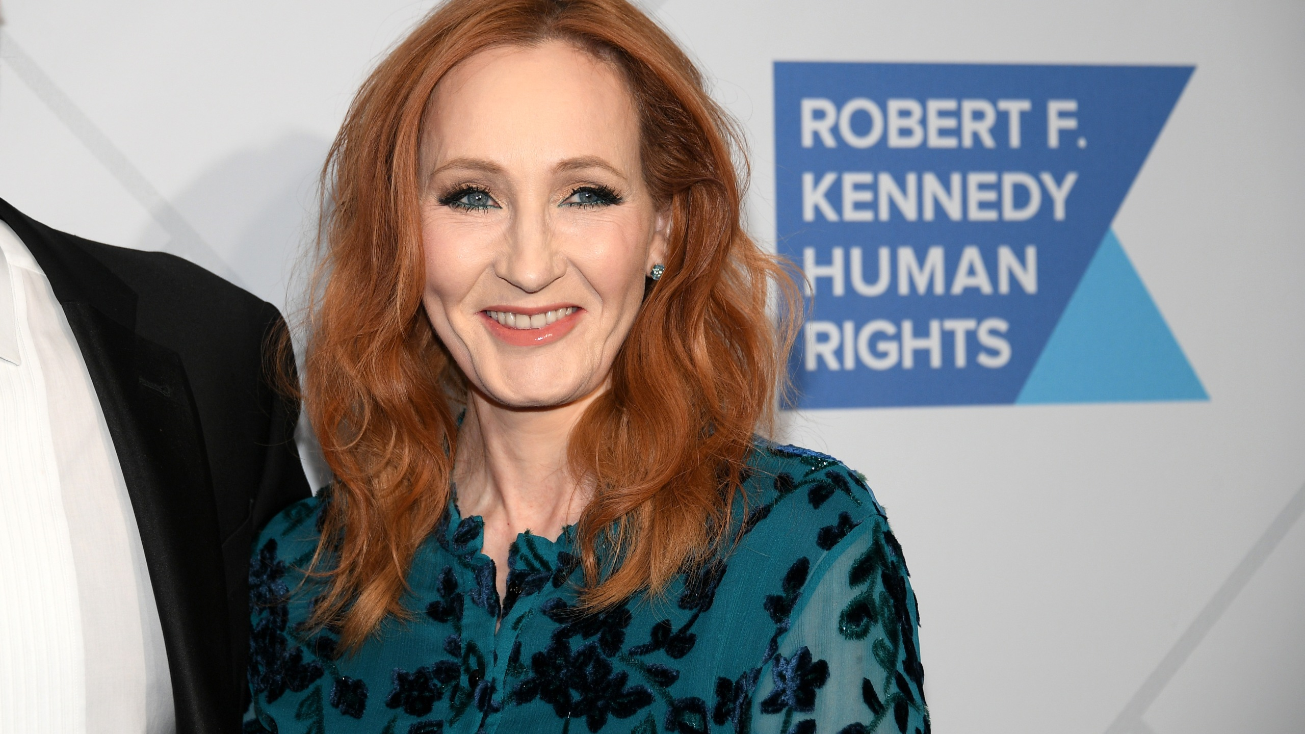 Author J.K. Rowling arrives at the RFK Ripple of Hope Awards in New York City on Dec. 12, 2019. (Credit: Dia Dipasupil / Getty Images)