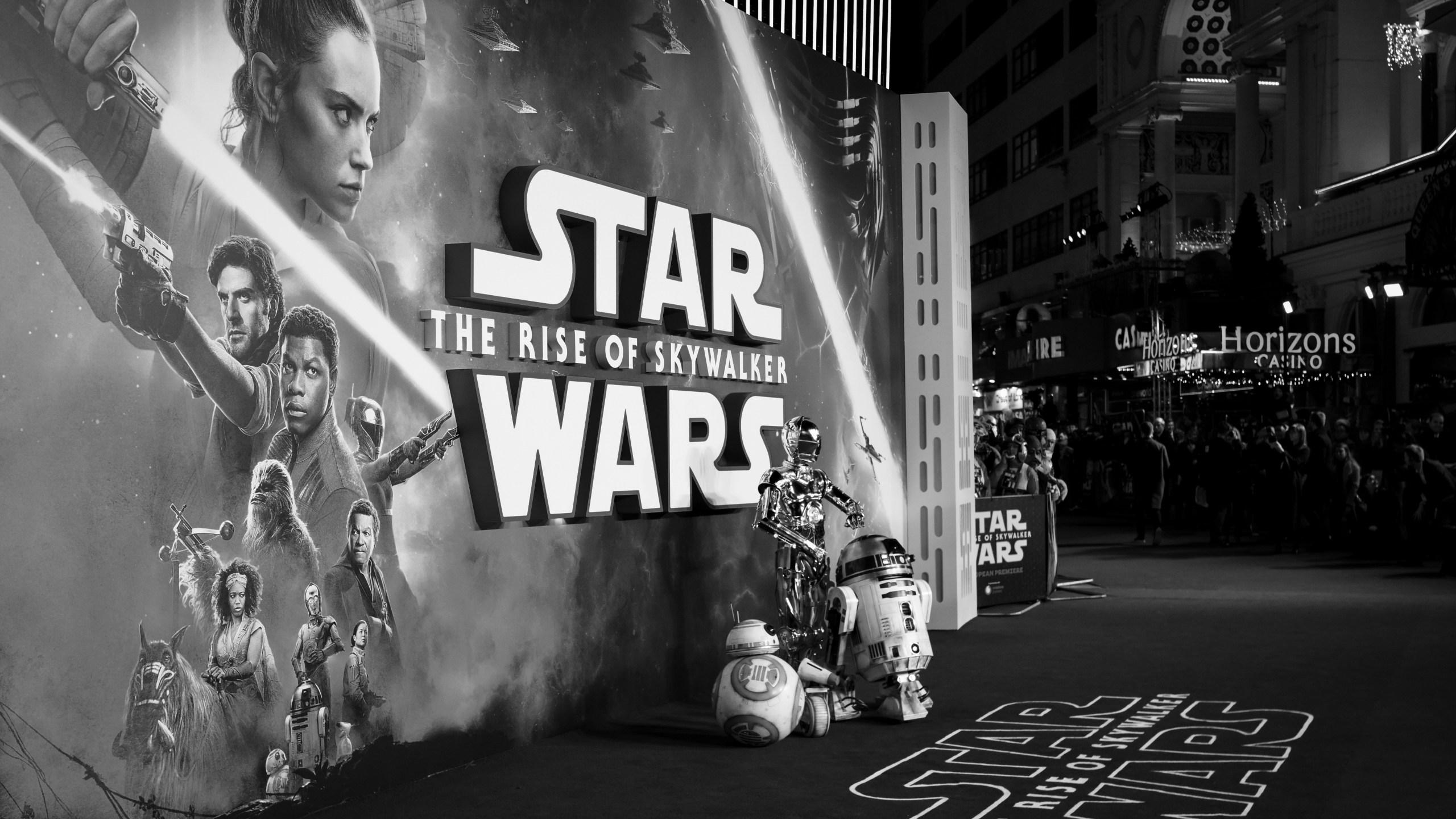 """Star Wars: The Rise of Skywalker"" on Dec. 18, 2019 in London, England. (Credit: Gareth Cattermole/Getty)"