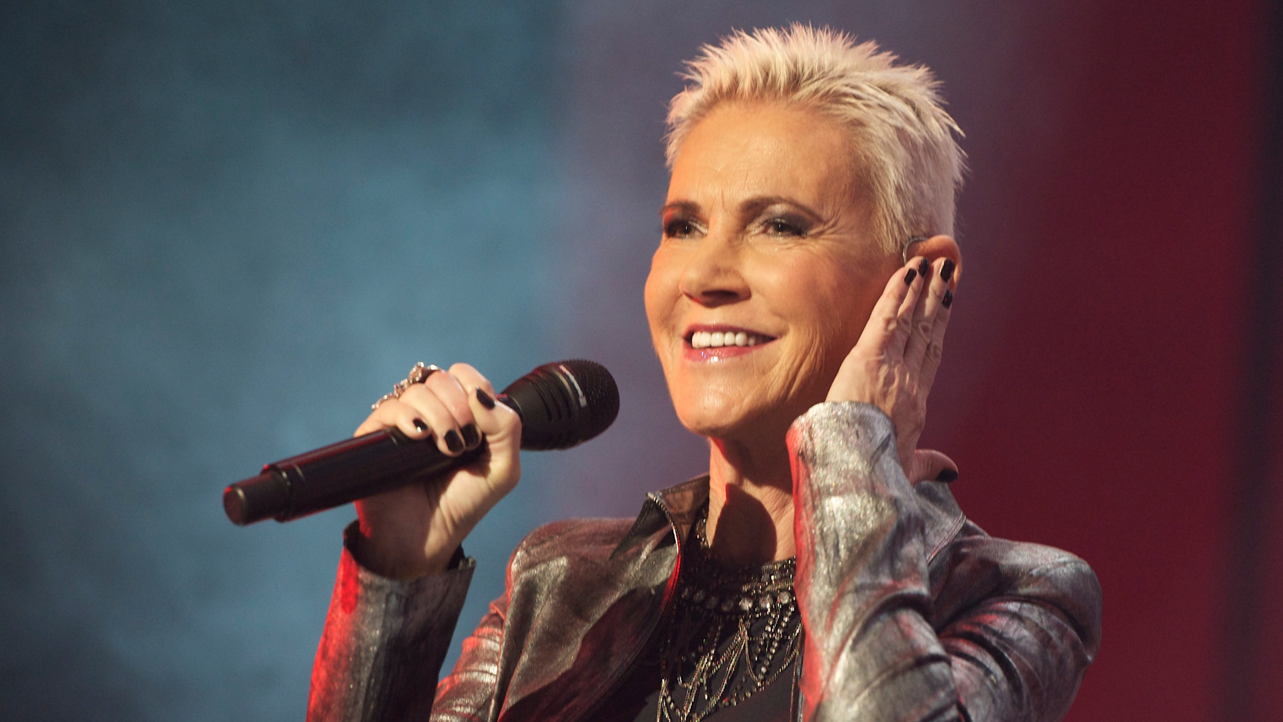 Marie Fredriksson of Roxette performs on stage at Palacio de Vistalegre on November 18, 2011 in Madrid, Spain. (Credit: Carlos Alvarez/Getty Images)