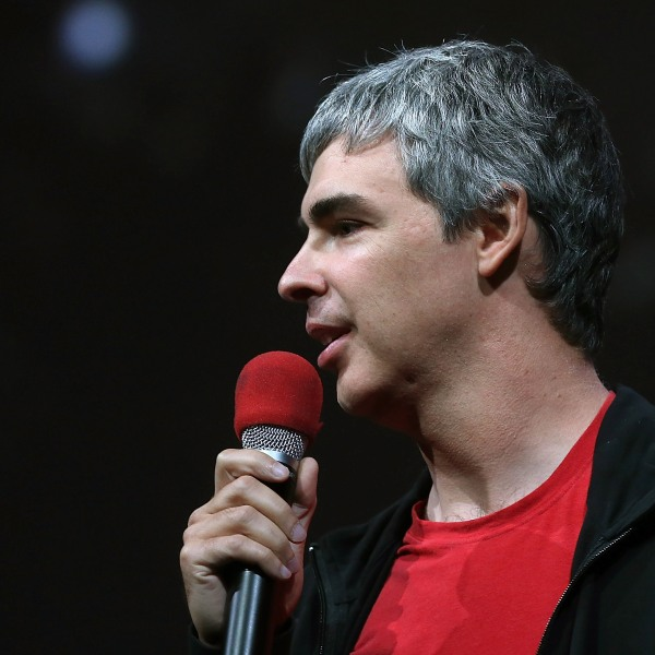 Larry Page, Google co-founder and CEO, speaks during the opening keynote at the Google I/O developers conference in San Francisco on May 15, 2013. (Credit: Justin Sullivan / Getty Images)