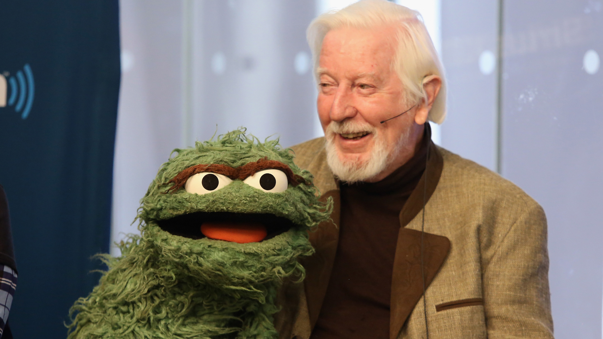 Caroll Spinney attends SiriusXM's Town Hall on Oct. 9, 2014, in New York City. (Credit: Robin Marchant/Getty Images for SiriusXM)