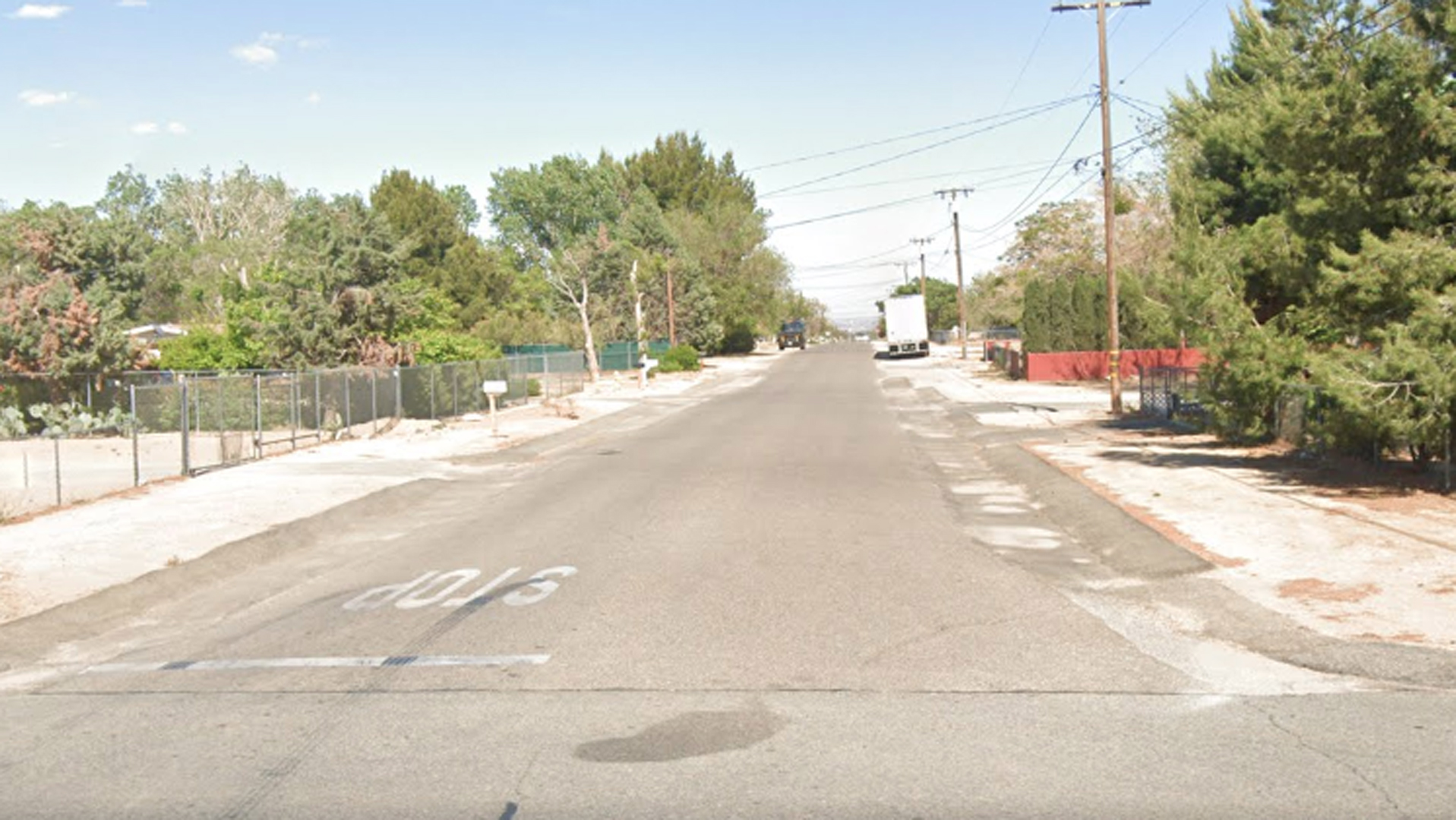 The 15000 block of Mojave Street is seen in a Google Maps image.