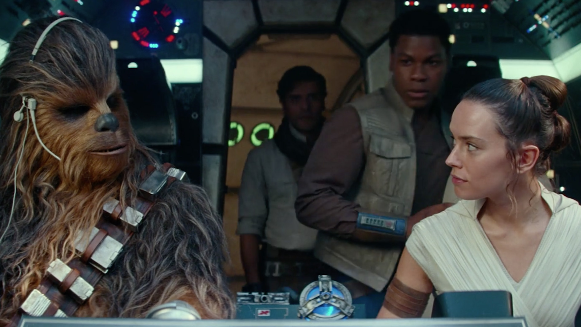 """""""Star Wars: The Rise of Skywalker"""" capped off Disney's landmark year, and the story of the Skywalkers, with a big opening weekend at the box office. (Credit: starwars.com via CNN Wire)"""