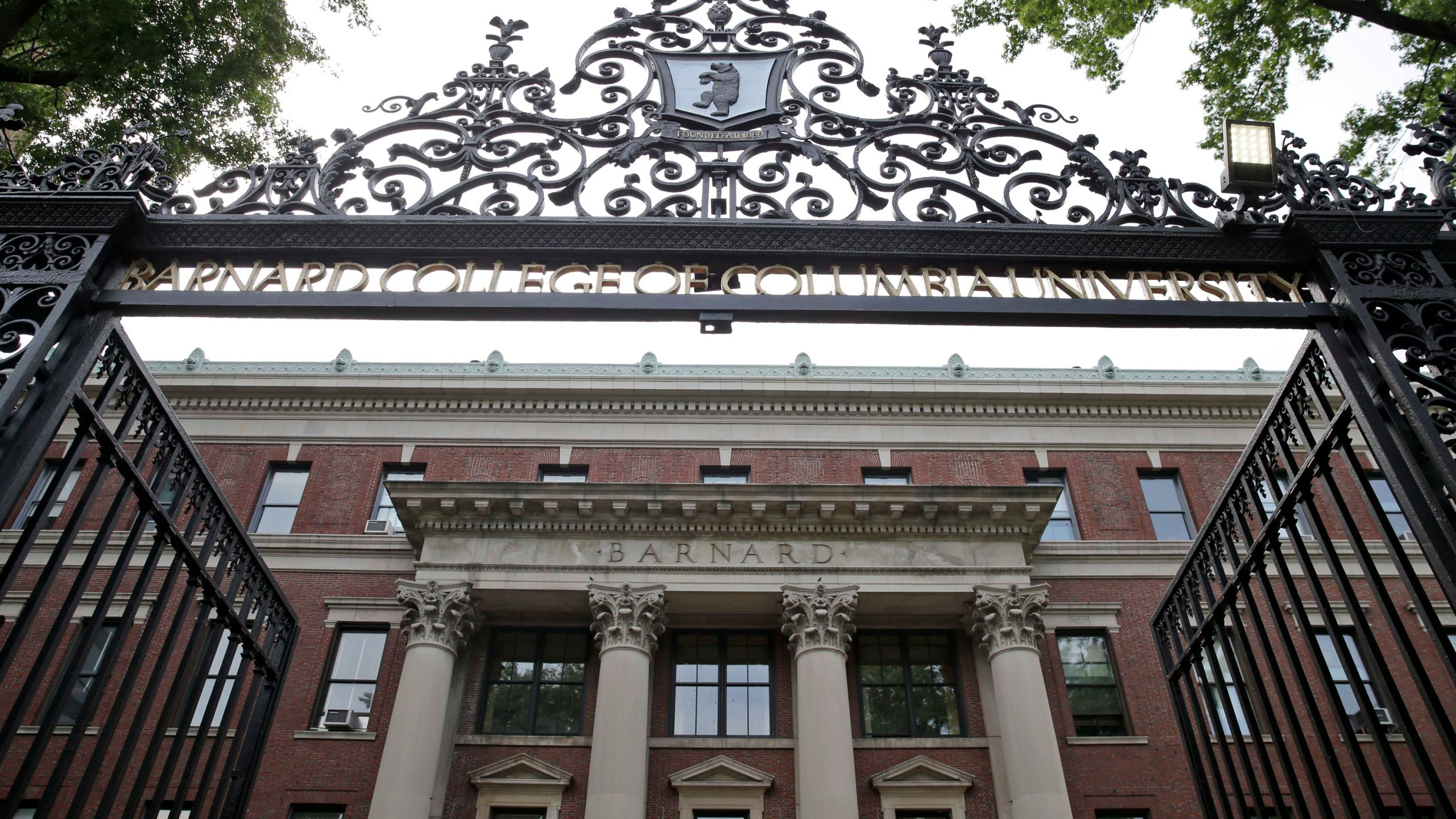 An 18-year-old woman who investigators believe to be a Barnard College student died after she was found with several stab wounds just blocks from the school, a law enforcement official said. (Credit: Seth Wenig/AP via CNN)