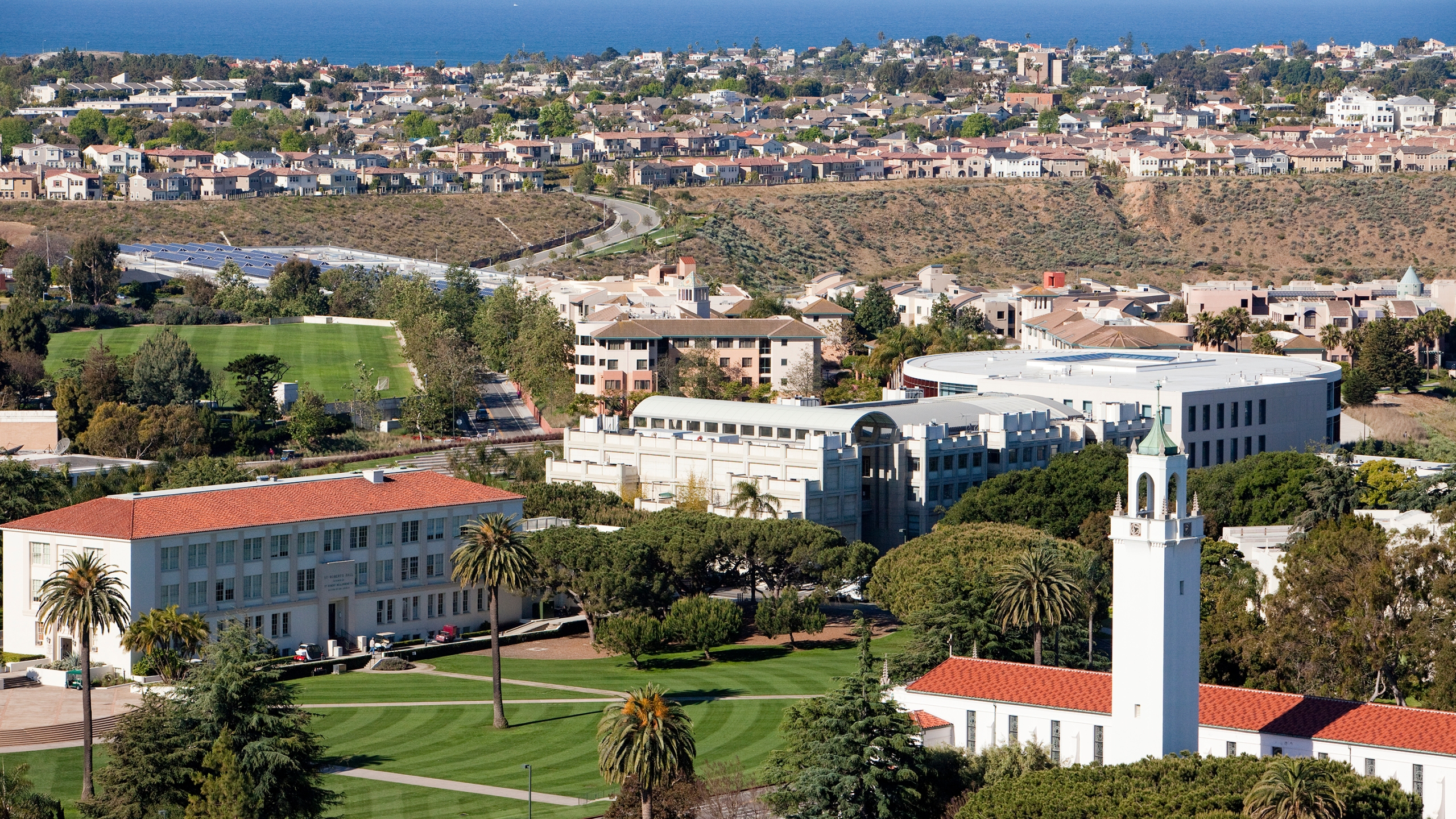 The Loyola Marymount University's Westchester campus is seen in a photo released by the school in September 2019.