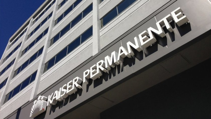 A Kaiser Permanente hospital is seen in this undated photo. (Credit: Bryan Chan / Los Angeles Times)