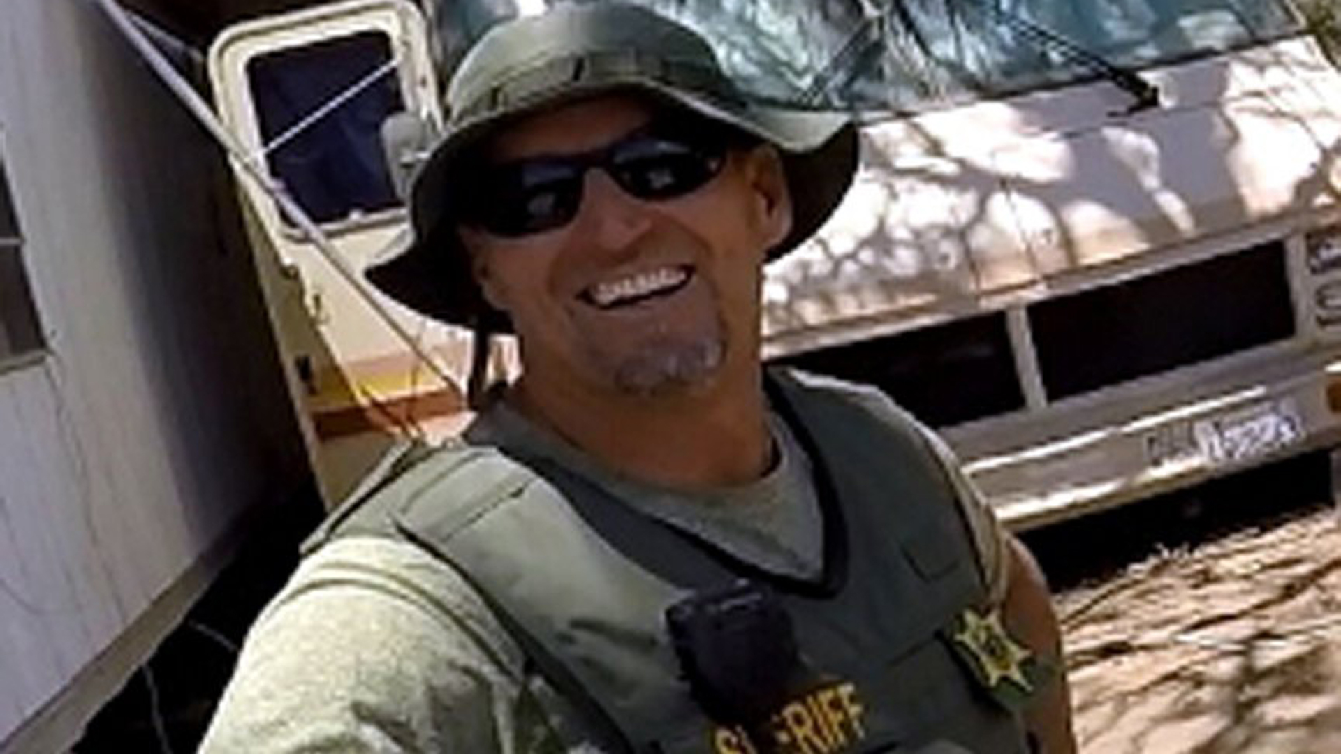 Deputy Sgt. Rod Lucas is seen in a photo released by the Fresno County Sheriff's Office.