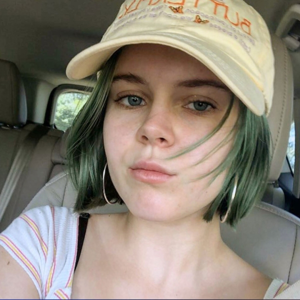 Tessa Majors is seen in a photo posted to Instagram and distributed by CNN.