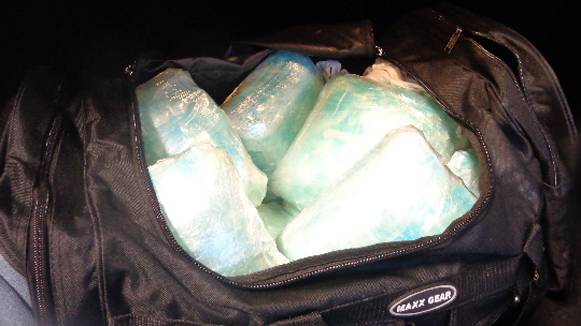 Meth seized by U.S. Border Patrol agents in San Diego is shown in a photo released by the agency on Dec. 3, 2019.