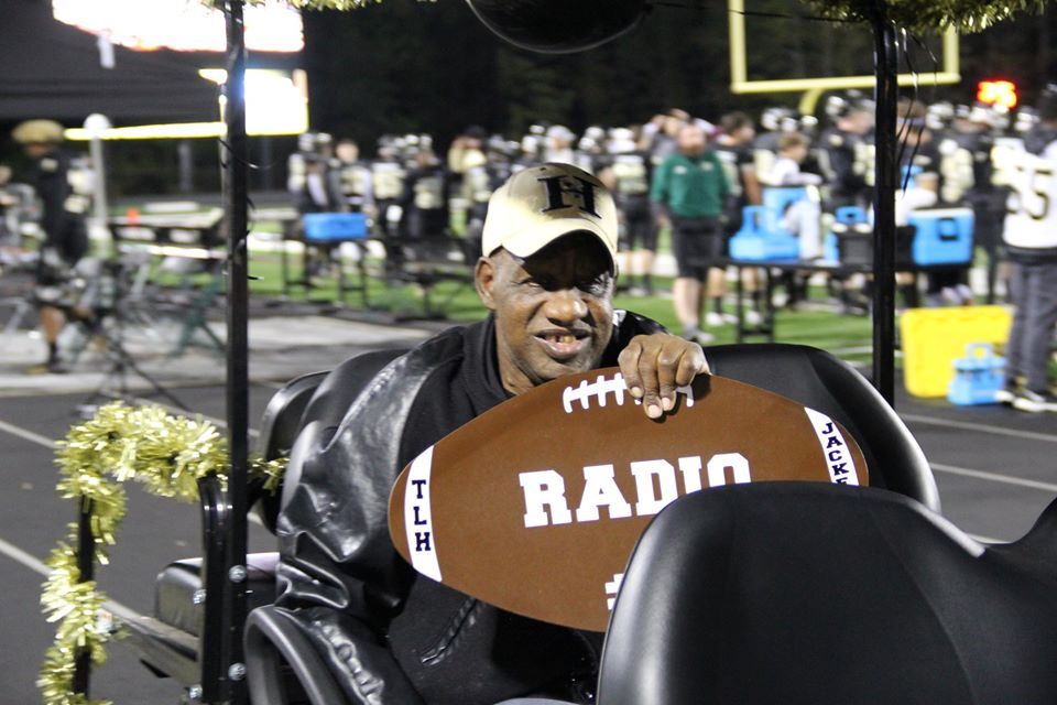 "James ""Radio"" Kennedy appears in a photo posted on the sports website of T.L. Hanna High School in South Carolina on Dec. 15, 2019."