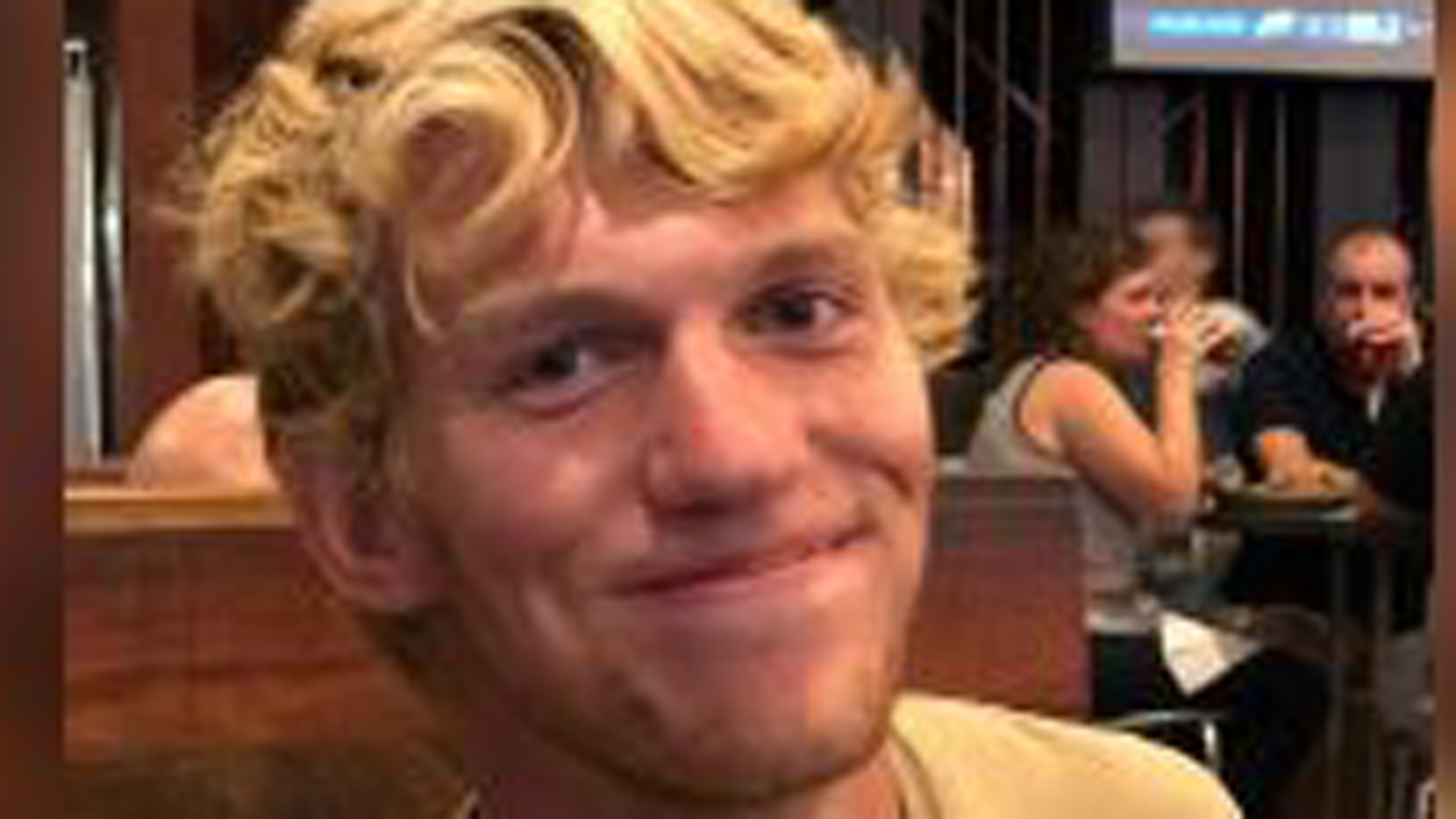 Riley Howell, 21, is seen in an undated photo provided to CNN by Morgan Howell Moylan.