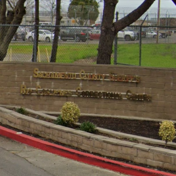 The Rio Cosumnes Correctional Center in Elk Grove is seen in a Google Maps image.