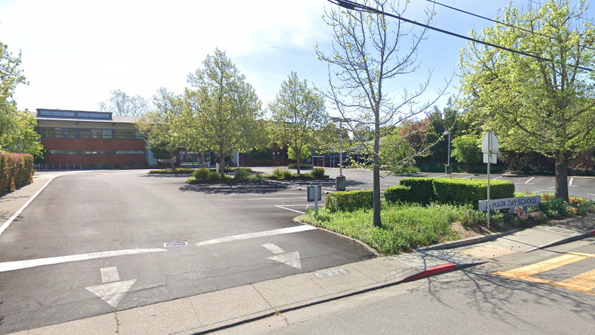 Mark Day School in San Rafael is seen in a Google Maps Street View image.