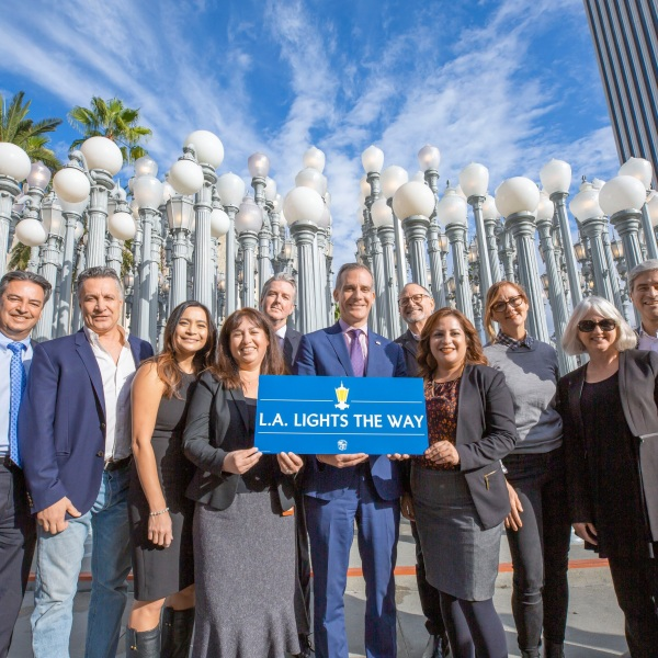 Streetlight Competition for L.A. Lights the Way.